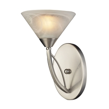ELK Lighting 7630/1 - Elysburg 1 Light Wall Sconce In Satin Nickel And
