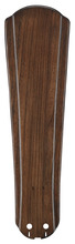 "Fanimation B5310WA - 22"" RAISED CONTOUR CARVED WOOD BLADE SET: WALNUT - SET"