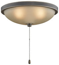 "Fanimation LK114ABA - 14"" LOW PROFILE BOWL LIGHT KIT: BRONZE ACCENT"