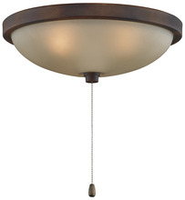 "Fanimation LK114ATS - 14"" LOW PROFILE BOWL LIGHT KIT: TORTOISE SHELL"