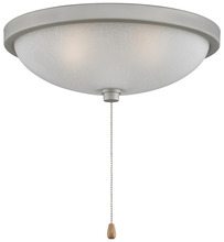 "Fanimation LK114WSN - 14"" LOW PROFILE BOWL LIGHT KIT: SATIN NICKEL"