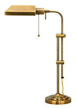 "CAL Lighting BO-117TB-AB - 26"" Height Metal Table Lamp in Antique Brass"