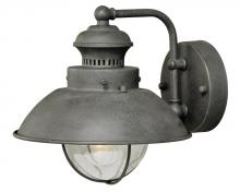 "Vaxcel International T0268 - Harwich 8"" Outdoor Wall Light Textured Gray"