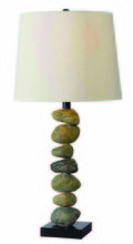 Kenroy Home 32123STN - Rubble Table Lamp