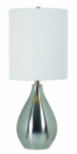 Kenroy Home 32156BS - Droplet Table Lamp