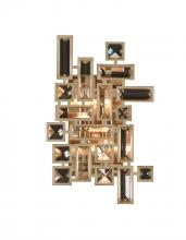Kalco Allegri 11191-038-SE001 - Vermeer 2 Light Wall Bracket W/Swarovski Elements Crystal W/Chrome