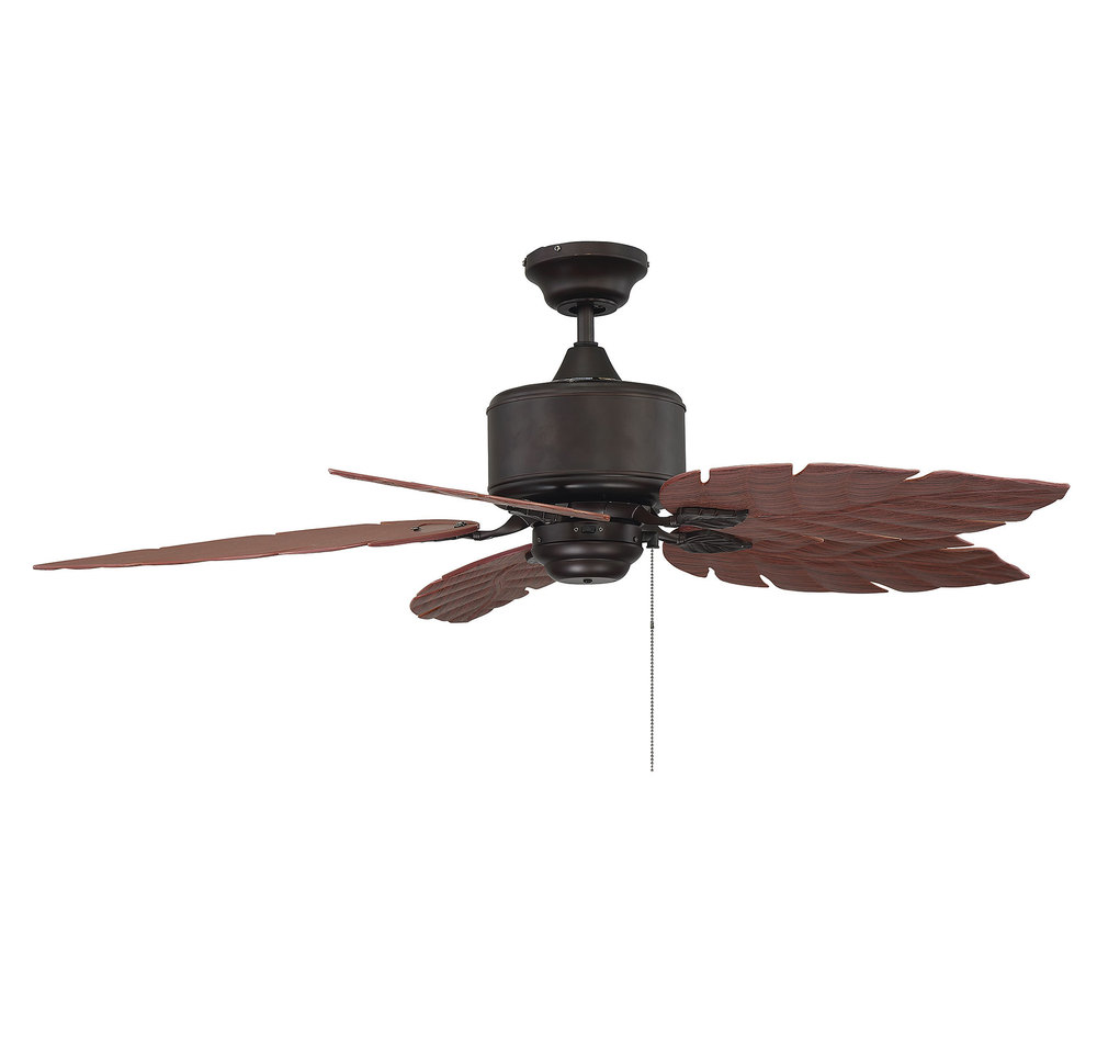 Mi Casa Lighting in Woodland Hills, California, United States, Savoy House 52-083-5RO-13, Portico Outdoor Ceiling Fan, Portico