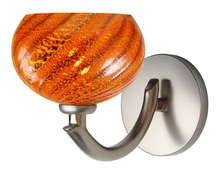 Stone Lighting WS111LVPNL2 - Wall Sconce Nautilus Lava Polished Nickel LED G4 JC 2W