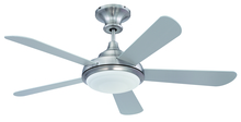 "Craftmade TR52SS5 - Triumph 52"" Ceiling Fan with Blades and Light in Stainless Steel"