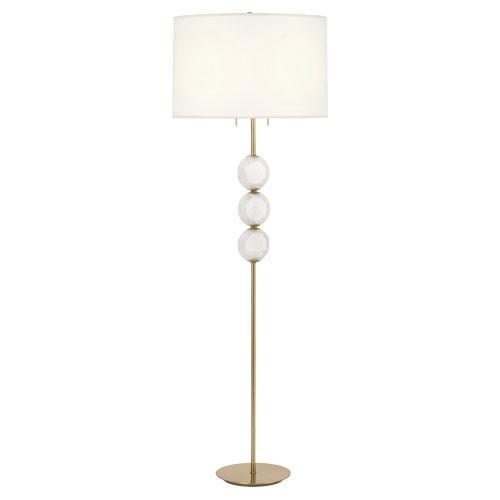 Mi Casa Lighting in Woodland Hills, California, United States, Robert Abbey 1892, Hope Floor Lamp, Hope