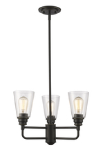 Z-Lite 428-3-OB - 3 Light Chandelier