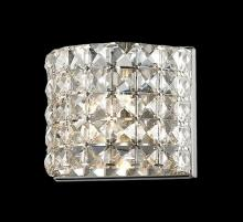 Z-Lite 867-1S-LED - 1 Light Crystal Vanity Light