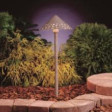 Kichler Landscape 15843NBK27 - Led Hammered Roof Path