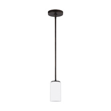 Sea Gull 6124601-710 - One Light Mini-Pendant