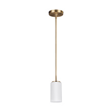 Sea Gull 6124601-848 - One Light Mini-Pendant