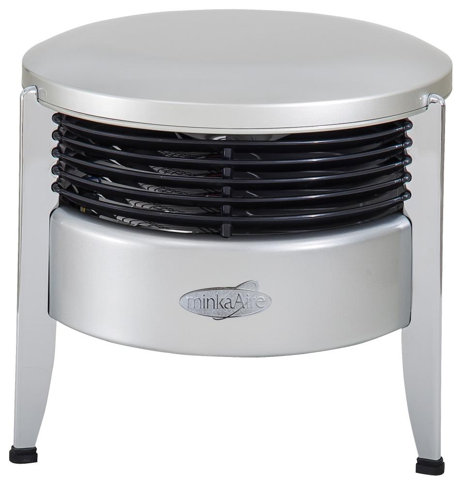 Mi Casa Lighting in Woodland Hills, California, United States, Minka-Aire F315-SL, Silver Portable Fan, Hassock Aire