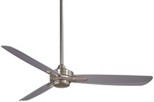 "Minka-Aire F727-BN/SL - Rudolph 52"" - Brushed Nickel with Silver Blades"