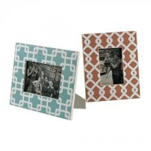 Sterling Industries 129-1102/S2 - Set Of 2 Chevron Print Picture Frames