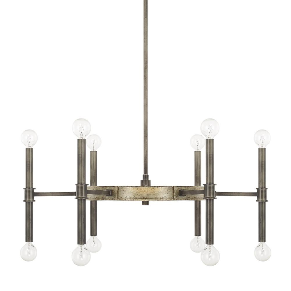 12 light chandelier 421401ig mi casa lighting 12 light chandelier aloadofball Choice Image