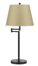 "CAL Lighting BO-2077TB-DB - 27"" Height Metal Table Lamp In Dark Bronze"