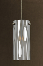 "CAL Lighting UP-1023/6-RU - 11.5"" Tall Metal Pendant In Rust"
