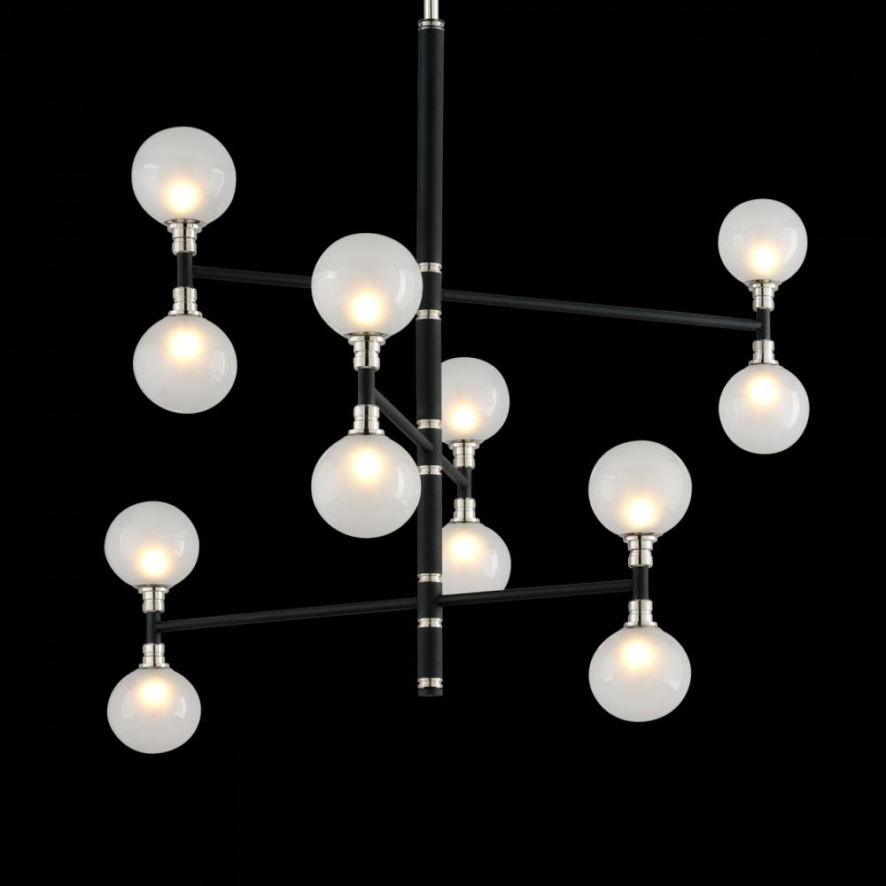 andromeda 12lt chandelier 3 tier medium f4826 mi casa lighting