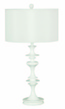 Kenroy Home 21033WH - Claiborne Table Lamp