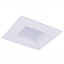 "Elegant RS41230KRF - 4"" CRI90 12W 800LM 3000KLED Downlight Square Retrofit"