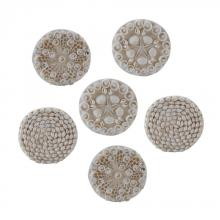 Dimond 159-005/S6 - Shell Coasters - Set of 6