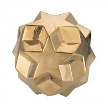 Dimond 9167-016 - Ceramic Gold Table Top Star Ball