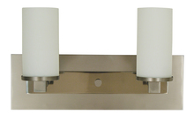 Framburg 4732 SP/PN - 2-Light Satin Pewter/Polished Nickel Mercer Sconce