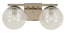 Framburg 4832 PN - 2-Light Polished Nickel Jupiter Bath Sconce