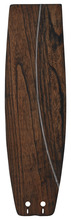 Fanimation B5330WA - 22 inch Soft Rounded Carved Wood - WA