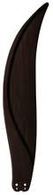 "Fanimation B6840DWA - 36"" LARGE CARVED WOOD BLADE: DARK WALNUT (MS97559)"