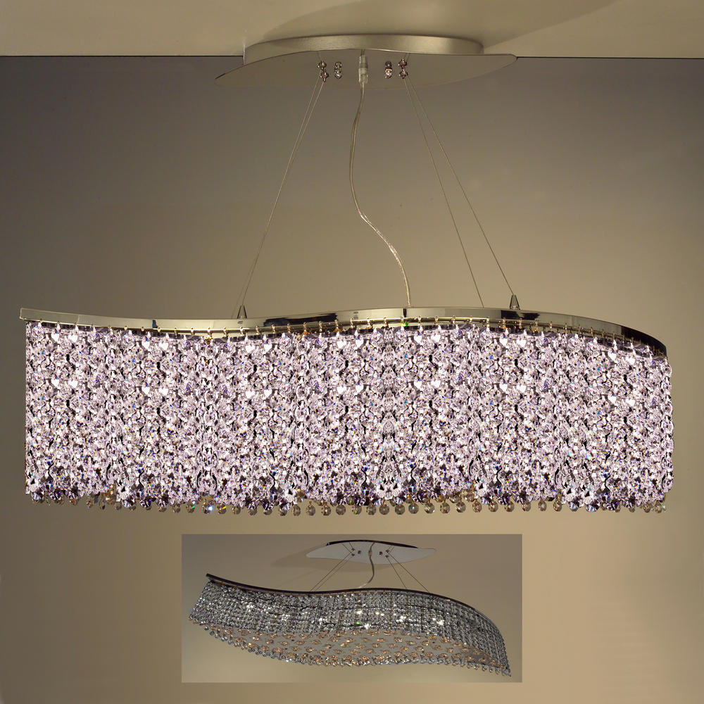 Classic Lighting 16102 BLK-CP Bedazzle Sconce with Wall Bracket